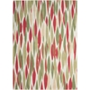 "Sun & Shade ""Bits & Pieces"" Blossom Indoor/OutdoorArea Rug"