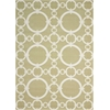 "Sun & Shade ""Connected"" Citrine Indoor/Outdoor Area Rug"
