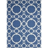 "Sun & Shade ""Connected"" Navy Indoor/Outdoor Area Rug"