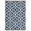 "Sun & Shade ""Lovely Lattice"" Lapis Indoor/Outdoor Area Rug"