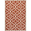 "Sun & Shade ""Lovely Lattice"" Sienna Indoor/Outdoor Area Rug"