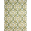 "Sun & Shade ""Izmir Ikat"" Avocado Indoor/Outdoor Area Rug"