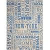 "Sun & Shade ""Pattern Destinations"" Citrus Indoor/Outdoor Area Rug"
