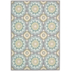 "Sun & Shade ""Solar Flair"" Jade Indoor/Outdoor Area Rug"