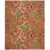 "Global Awakening ""Imperial Dress"" Spice Area Rug"