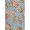 "Global Awakening ""Casablanca Rose"" Ceramic Area Rug"