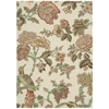 "Global Awakening ""Casablanca Rose"" Pear Area Rug"