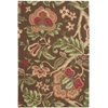 Nourison Wav03 Global Awakening Rectangle Rug  By Nourison, Chocolate, 4' X 6'