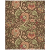 Nourison Wav03 Global Awakening Rectangle Rug  By Nourison, Chocolate, 8' X 10'
