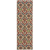 "Nourison Wav03 Global Awakening Runner Rug  By Nourison, Spice, 2'6"" X 8'"