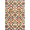 Wav03 Global Awakening Rectangle Rug By, Spice, 4' X 6'