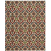 Nourison Wav03 Global Awakening Rectangle Rug  By Nourison, Spice, 8' X 10'