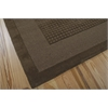 Nourison Westport Rectangle Rug  By Nourison, Mocha, 5' X 8'