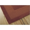 Nourison Westport Rectangle Rug  By Nourison, Spice, 5' X 8'