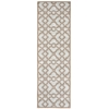 "Wav16 Treasures Runner Rug By, Early Grey, 2'6"" X 8'"