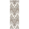 "Wav16 Treasures Runner Rug By, Elephant, 2'6"" X 8'"
