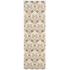 "Nourison Wav16 Treasures Runner Rug  By Nourison, Birch, 2'6"" X 8'"