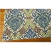 Nourison Wav16 Treasures Rectangle Rug  By Nourison, Blue Jay, 5' X 7'
