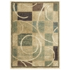 Expressions Rectangle Rug By, Beige, 2' X 2'9""