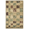 "Expressions Rectangle Rug By, Beige, 3'6"" X 5'6"""