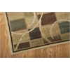 "Nourison Expressions Rectangle Rug  By Nourison, Beige, 5'3"" X 7'5"""