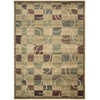 "Expressions Rectangle Rug By, Beige, 7'9"" X 10'10"""