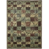 "Nourison Expressions Rectangle Rug  By Nourison, Brown, 7'9"" X 10'10"""