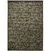 """Nourison Expressions Rectangle Rug  By Nourison, Brown, 9'6"""" X 13'6"""""""