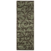"""Expressions Runner Rug By, Brown, 2' X 5'9"""""""
