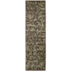 "Nourison Expressions Runner Rug  By Nourison, Brown, 2'3"" X 8'"