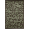 "Expressions Rectangle Rug By, Brown, 3'6"" X 5'6"""