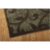 "Expressions Rectangle Rug By, Brown, 5'3"" X 7'5"""