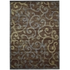 "Expressions Rectangle Rug By, Multicolor, 7'9"" X 10'10"""