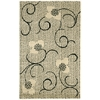"Expressions Rectangle Rug By, Ivory, 3'6"" X 5'6"""
