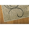 "Nourison Expressions Rectangle Rug  By Nourison, Ivory, 5'3"" X 7'5"""