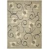 "Expressions Rectangle Rug By, Ivory, 7'9"" X 10'10"""
