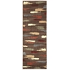 Nourison Expressions Runner Rug  By Nourison, Chocolate, 2' X 5'9""