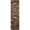"Nourison Expressions Runner Rug  By Nourison, Chocolate, 2'3"" X 8'"