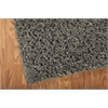 "Nourison Zen Rectangle Rug  By Nourison, Grey, 5'6"" X 7'5"""