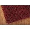 "Nourison Zen Rectangle Rug  By Nourison, Red, 7'6"" X 9'6"""