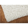 "Nourison Zen Rectangle Rug  By Nourison, White, 5'6"" X 7'5"""