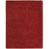 Zen Red Shag Area Rug