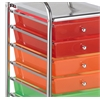 ECR4Kids 10 Drawer Mobile Organizer - Assorted