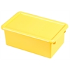 Stack & Store Tub with Lid - Yellow, set of 6