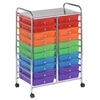 20 Drawer Mobile Organizer - Assorted