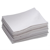ECR4Kids Standard Cot Sheet - White, set of 12