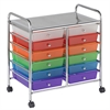 12 Drawer Mobile Organizer - Assorted