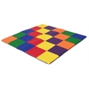 ECR4Kids SoftZone® Patchwork Toddler Mat