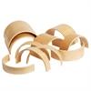 ECR4Kids Wooden Tunnels & Arches, 20-Piece Set