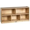 """ECR4Kids Birch  24"""" Storage Cabinet - 5 Compartments"""